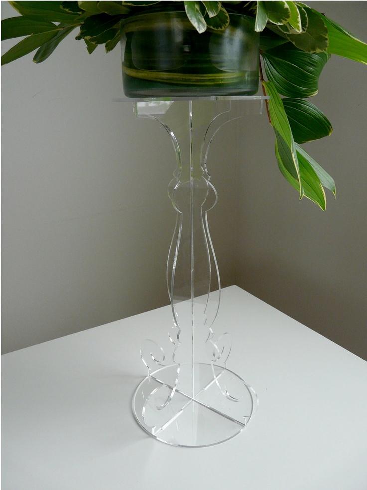 Laser Cut Acrylic Flower Stand