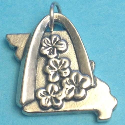 Retired Rare James Avery Sterling Silver 925 St Saint Louis Arch Dogwood Flower #JamesAvery