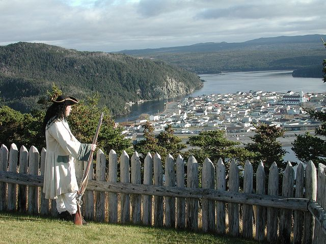 Castle Hill Solider at Placentia Bay, Nfld.