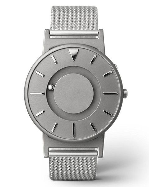 The Bradley is a tactile timepiece that allows you to not only see what time it is, but to feel what time it is.