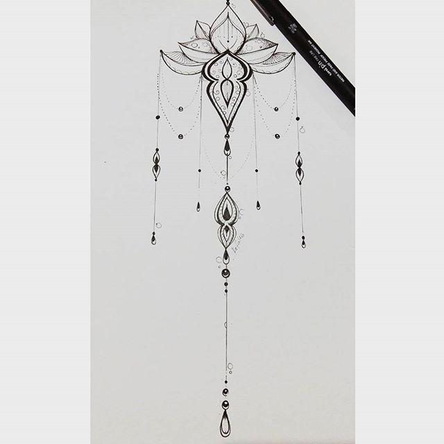 Instagram media by ateliekefonascimento - Mais uma flor de lotus ornamental. Desenho inicial desenvolvido para tatuagem da Flavia cliente do RN. #boanoite #tattoo #tatuagem #tattoo2me #inspirationtatto #drawing #desenhos #tatuagensfemininas #tattooscomsignificado #tattoos #tatuagem #tatuagens #flordelotus #joaopessoa #JP #recife #campinagrande #cg