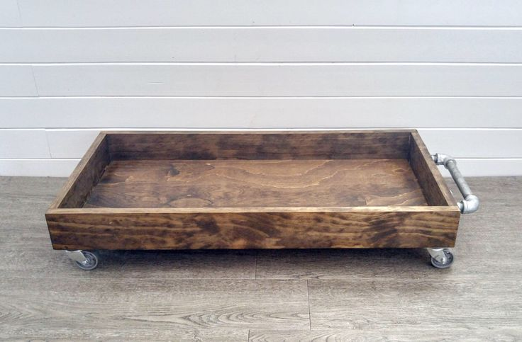 Boot Tray - Industrial Wood Boot Tray - Industrial Shoe Tray - Shoe Storage - Rolling Boot Tray by whitebarnwoodworking on Etsy https://www.etsy.com/listing/466199910/boot-tray-industrial-wood-boot-tray