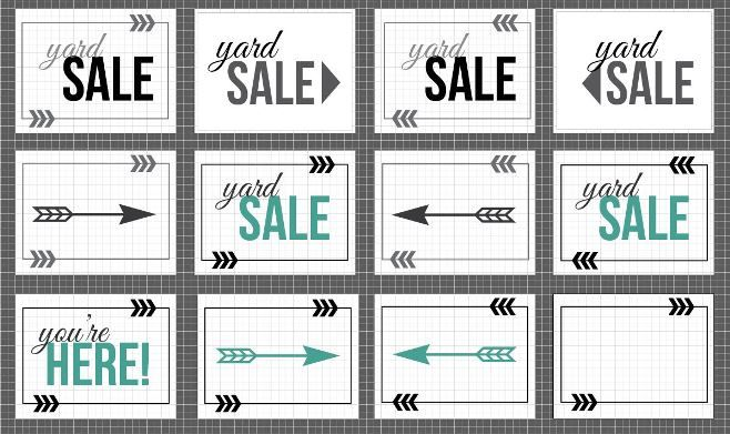 1000+ ideas about Yard Sale Signs on Pinterest | Yard sale ...