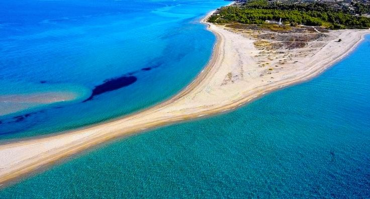6. Aereal view of Possidi beach