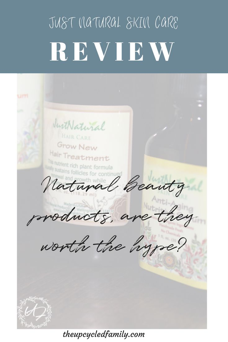 Just natural skin care Review- natural skin care, but is it worth the hype?