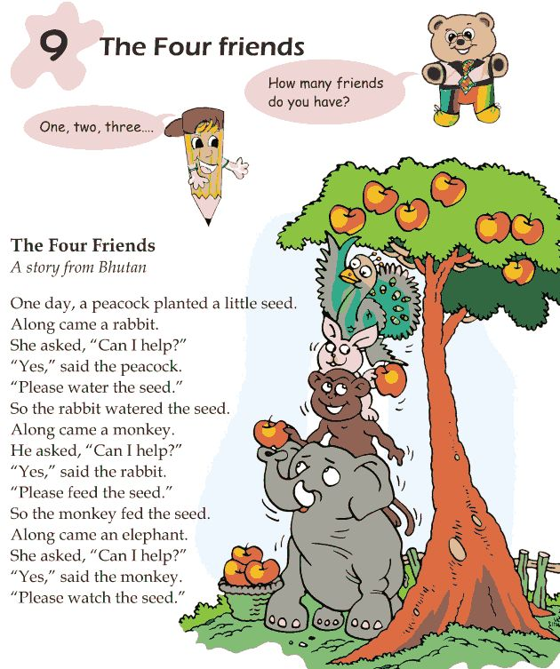Worksheets Short Stories For Grade 1 1000 images about comprehension on pinterest first grade 1 reading lesson 9 fables and folktales the four friends