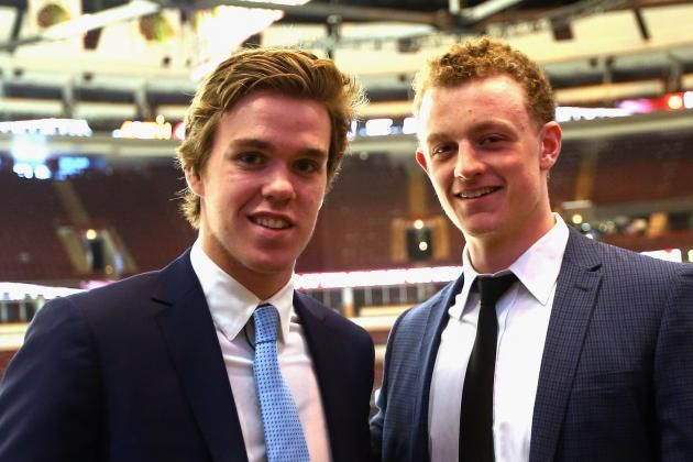 Connor McDavid and Jack Eichel: Edmonton Oilers and Buffalo Sabers