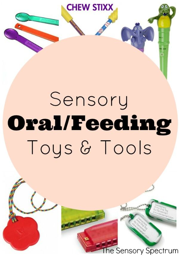 For children needing feeding and/or oral sensory practice and outlets, consider these oral sensory tools and toys you can use at home.