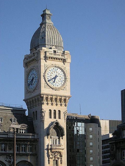 Gare de Lyon clock tower, Paris 12e