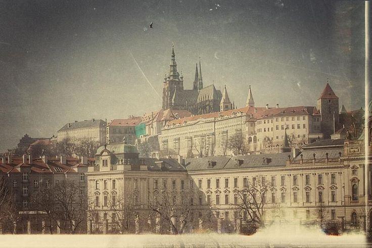 Hradcany castle in Praha, Czechia