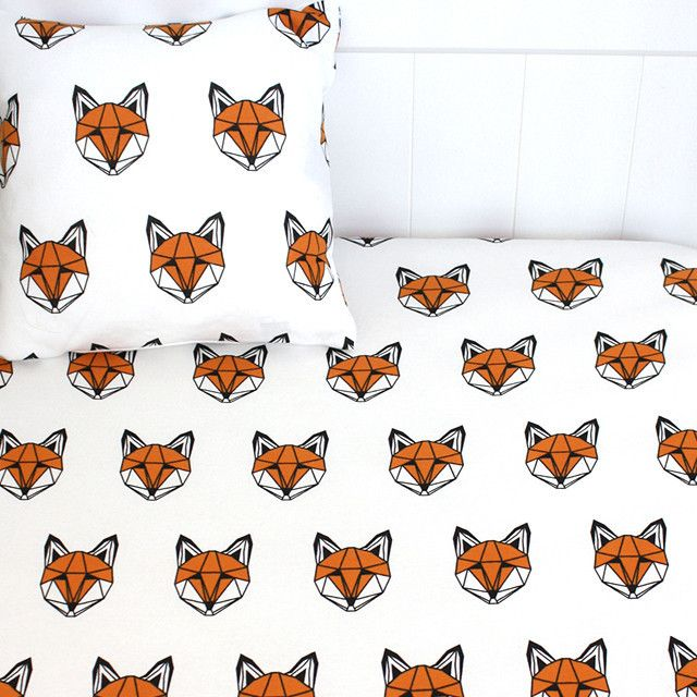 Just Call Me Fox bedding