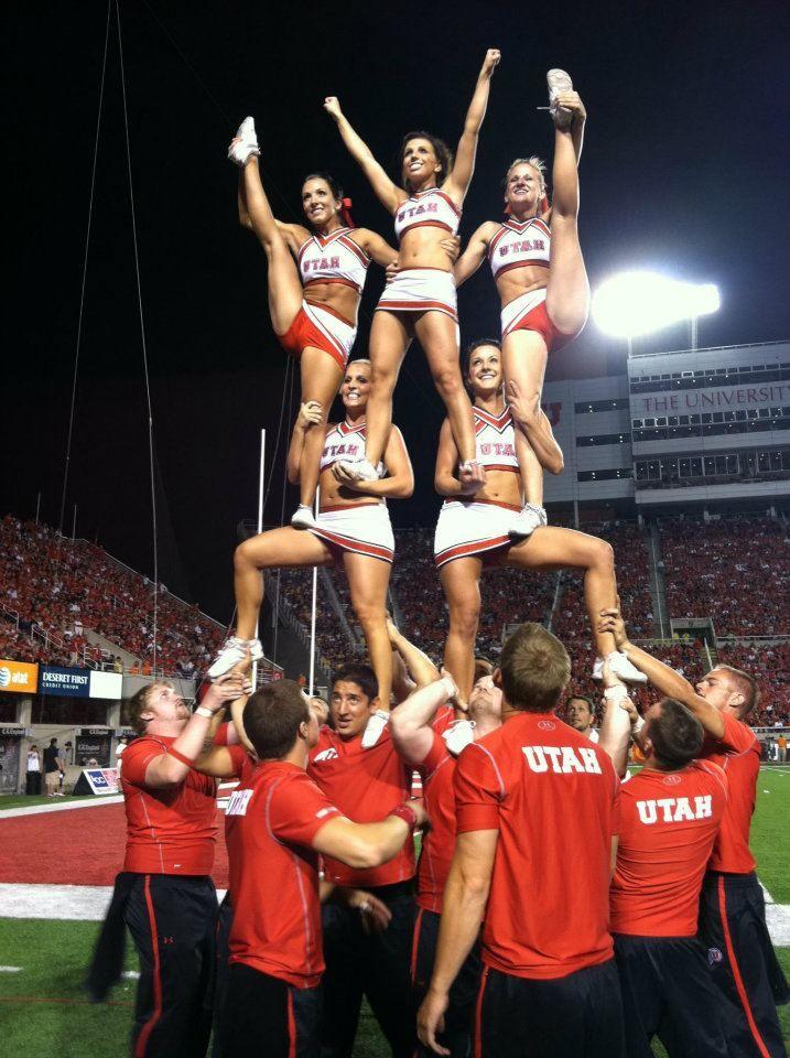 Utah Cheerleaders, 2011-2012 | Ute Girls #cheer #cheerleader #cheerleading