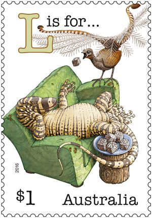 The second instalment of the Fair Dinkum Aussie Alphabet is released. This time it's A, C, L, R, T. Can you spot all the references? Buy in-store or online: http://auspo.st/2b7qOf0 #AustralianStamps #Philatelic #FairDinkum
