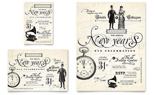 vintage wedding invitation typography