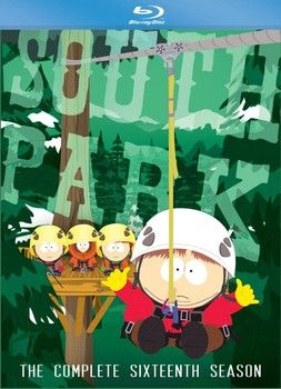 """""""South Park: The Complete Sixteenth Season"""" is out today in a three-disc DVD set and a two-disc Blu-ray set. Season 17 begins tomorrow, September 25 at 10:00 pm ET/PT on Comedy Central. #examinercom #SouthPark #Bluray #DVD #review #TreyParker #MattStone #television #ComedyCentral"""