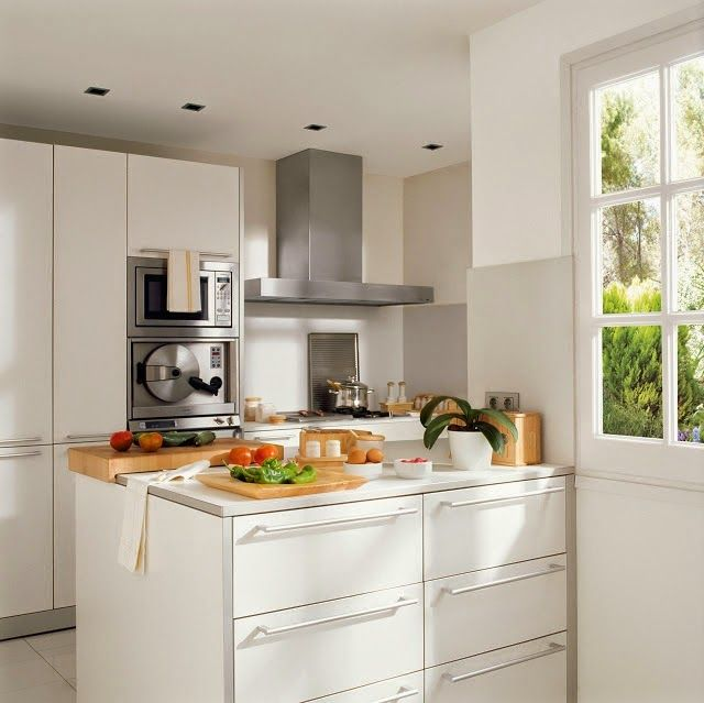 17 best images about cocinas on pinterest madeira - Ideas para decorar una cocina pequena ...