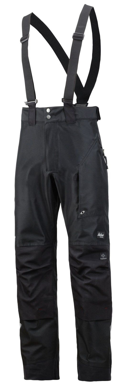 For extreme protection all day long. Advanced and high-functionality work #trousers in reinforced 3-layer GORE-TEX® fabric, giving you the ultimate in dry and ventilated working comfort. All day, any #weather. Conforms to EN 343. - Snickers Workwear Artnr. 3888