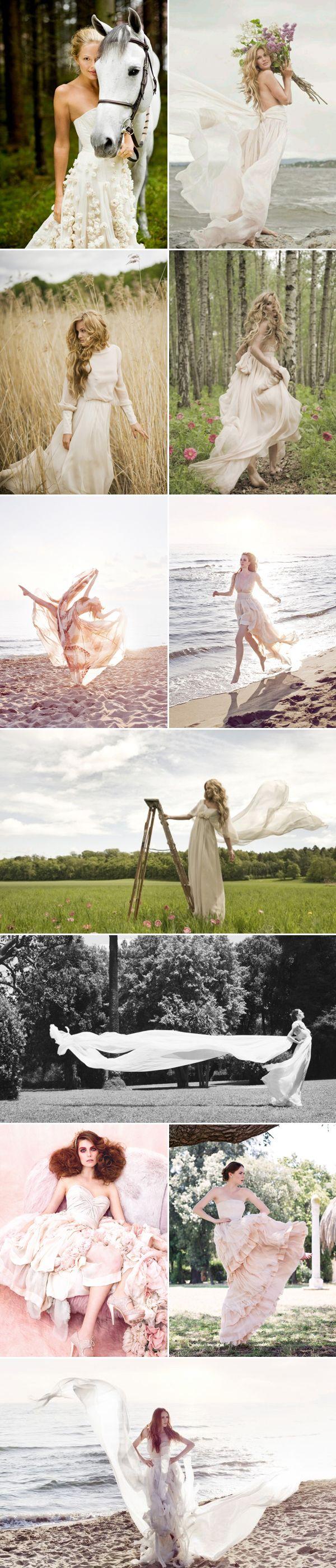 Gorgeous Whimsical Wedding Dresses - Leila Hafzi