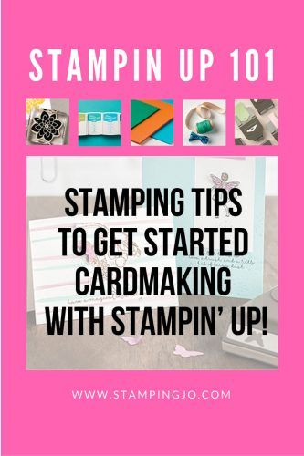 Stamping tips for using Stampin Up stamps, cardstock, inks and accessories! - Hand Stamped Cards with Josee Smuck-Stampin' Up! Canada Demonstrator