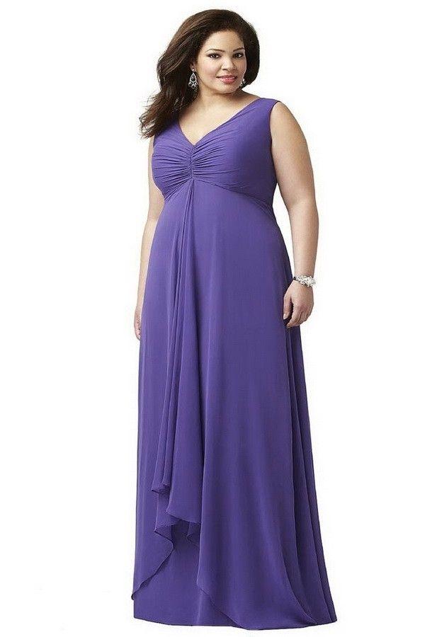 Mejores 34 imágenes de Plus Size Dresses en Pinterest   Vestidos de ...