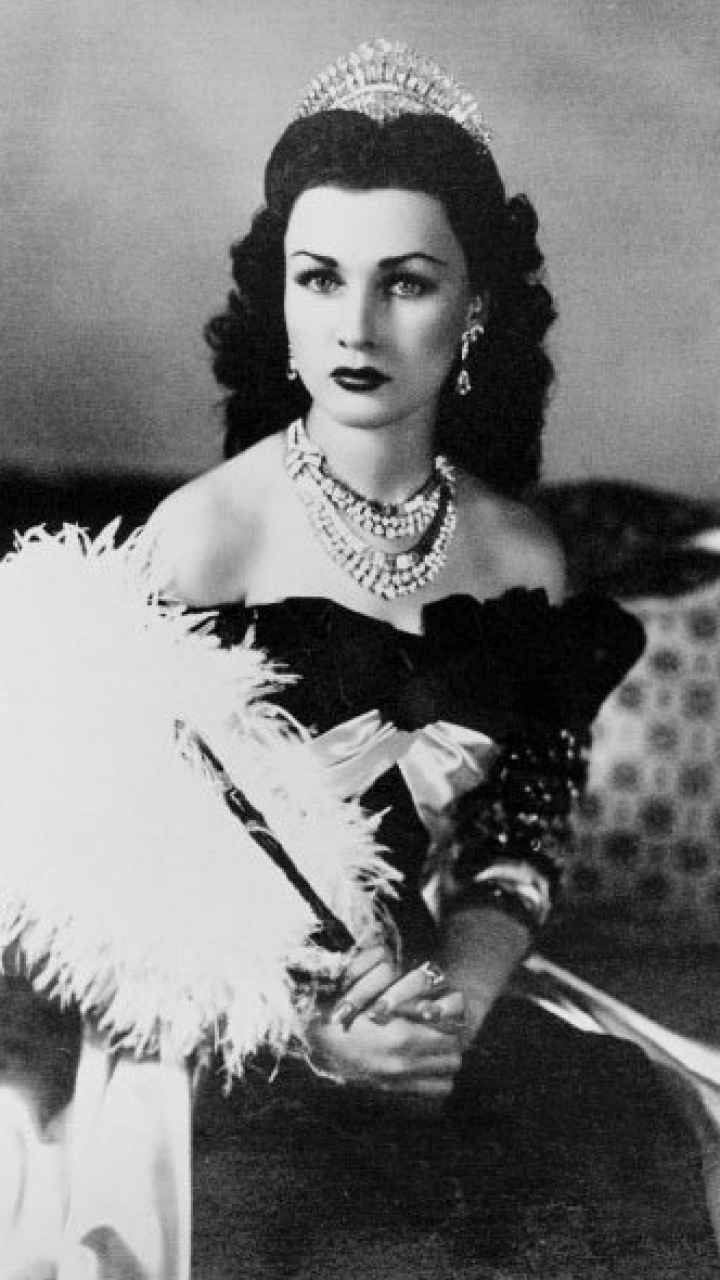 The Venus from Egypt Queen Fawzia of Iran