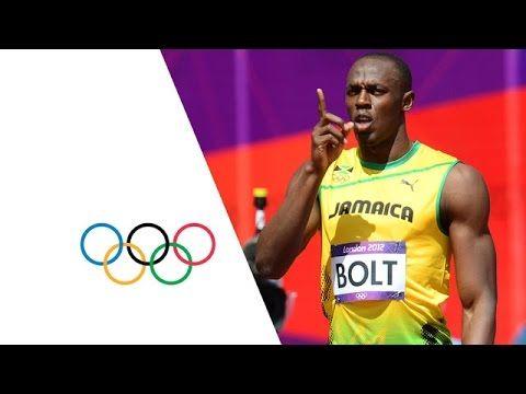 Usain Bolt & Yohan Blake Win 100m Heats - London 2012 Olympics - YouTube