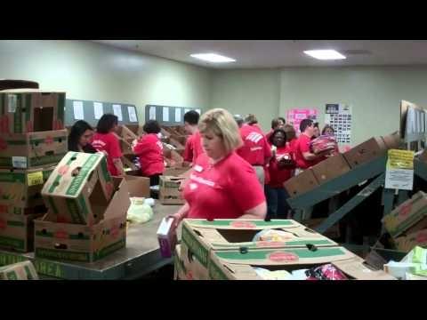 Bank of America Volunteers :)