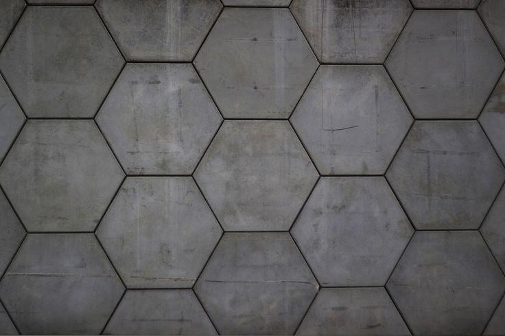 Hexagonal panel concrete pavers  Dream Home