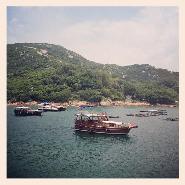 Boats at the littoral zone~ - @loviekai- #webstagram