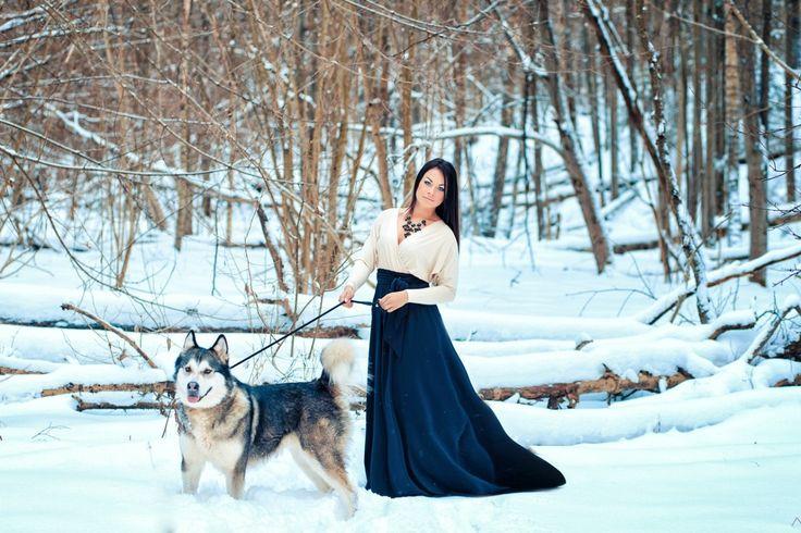 Аляскинский маламут — для души, для настроения, для жизни! | Фото хаски и маламуты