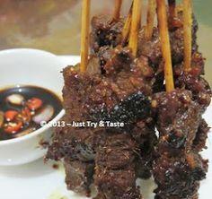 Just Try & Taste: Sate Sapi Bumbu Dendeng