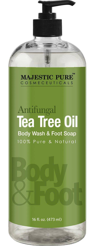 Anti fungal Tea Tree Oil Soap - Body Wash 16 fl. oz