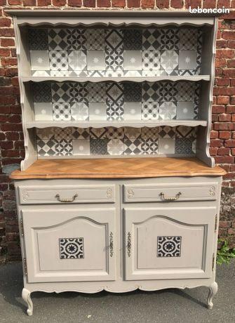 les 25 meilleures id es de la cat gorie buffet vaisselier sur pinterest vaisselier peint. Black Bedroom Furniture Sets. Home Design Ideas