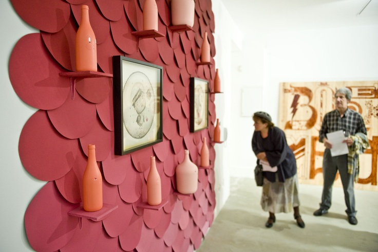 Wine Talks & Arts, colective show 2011, by Maria Imaginário