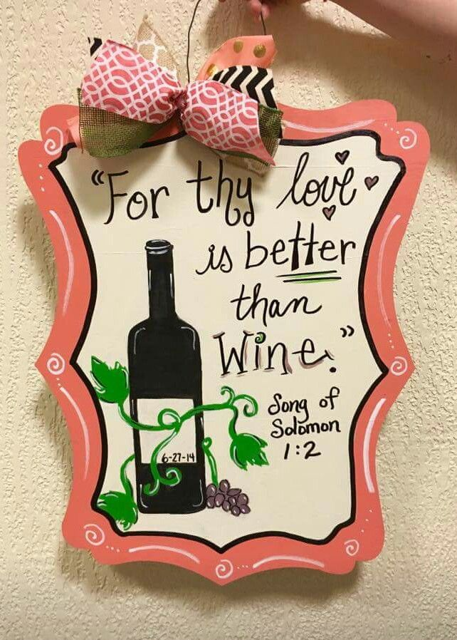 writing \u0026 accents by Ursula Mason ○ Craft painted by customer at Craft Night Out @  sc 1 st  Pinterest & 21 best Mason Jar Wooden Door Hangers images on Pinterest | Wooden ...