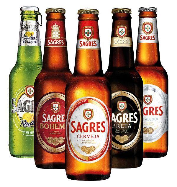 Cervejas Sagres. Portugal