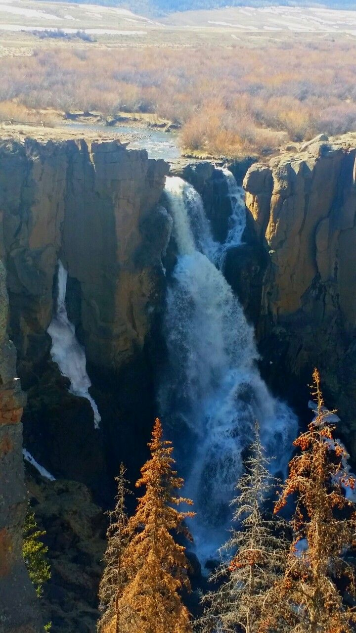 North Clear Creek Falls ~ in the Rio Grande National Forest, Colorado