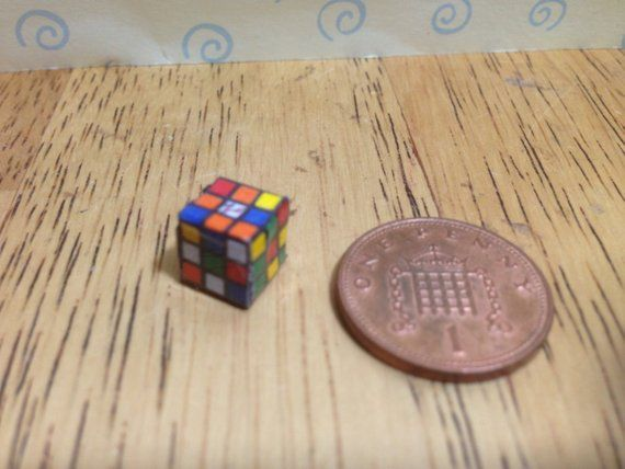 1:12 dollhouse miniatures handmade puzzle