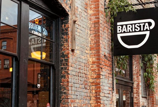 """Portland—like its java-loving neighbour to the north, Seattle—takes its coffee seriously, and Barista is no exception. The Alberta Street location also has specially selected beers on tap—a place for """"beer loving coffee people."""""""