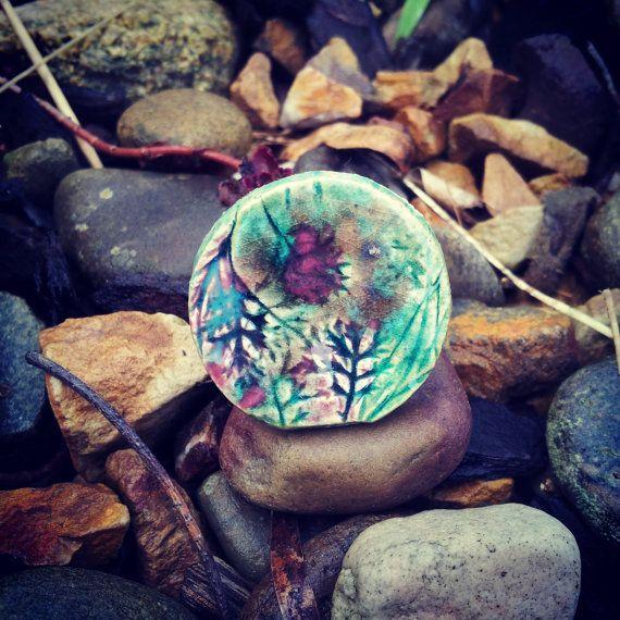 Handmade Ceramic Ring by SaSuDesigns on Etsy, $25.00