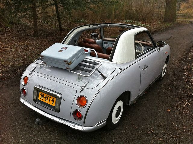 Nissan Figaro                                                                                                                                                                                 More