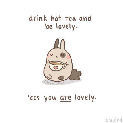 Cute cartoon bunny and so true!