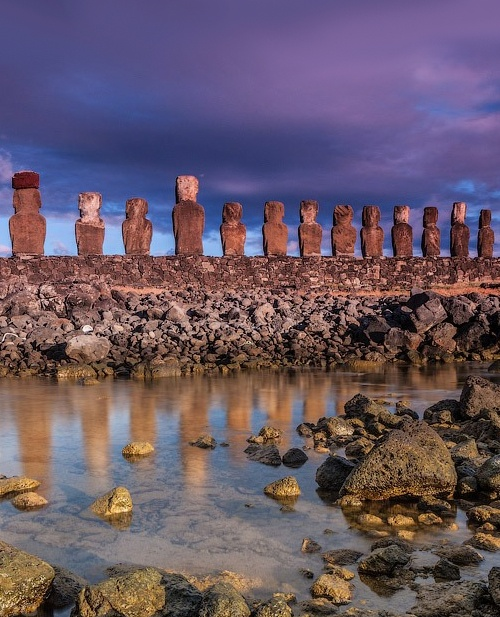 Easter Island Beaches: 17 Best Images About Chile Isla De Pascua On Pinterest