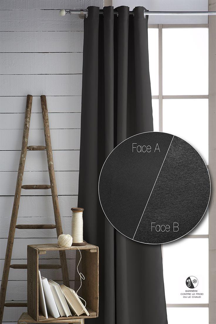 les 25 meilleures id es de la cat gorie rideau isolant sur pinterest isoler les combles. Black Bedroom Furniture Sets. Home Design Ideas