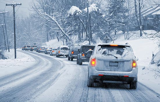 Cold temperatures bring new risks to the road. Practice winter driving safety with these winter driving tips from Travelers.