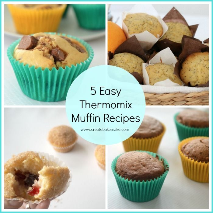 With so many amazing recipes out there, it can be hard to pick one, so we've put together these 5 easy muffin recipes to make in your Thermomix!