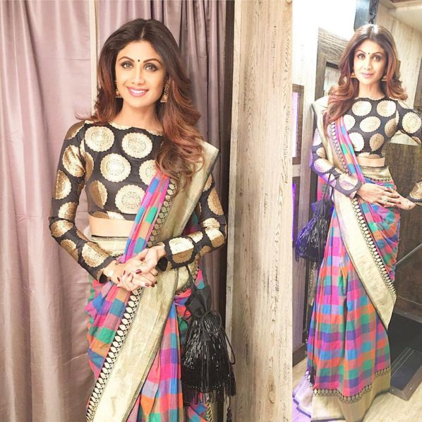 Shilpa Shetty Kundra | Bollywood Celebrities Looked Damn Good At The 2016 Umang Mumbai Police Show