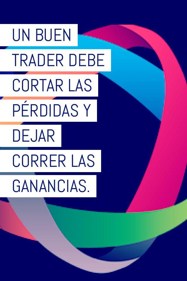 Frases de trading. Un buen trader debe cortar las pérdidas y dejar correr las ganancias. Stocksforex.
