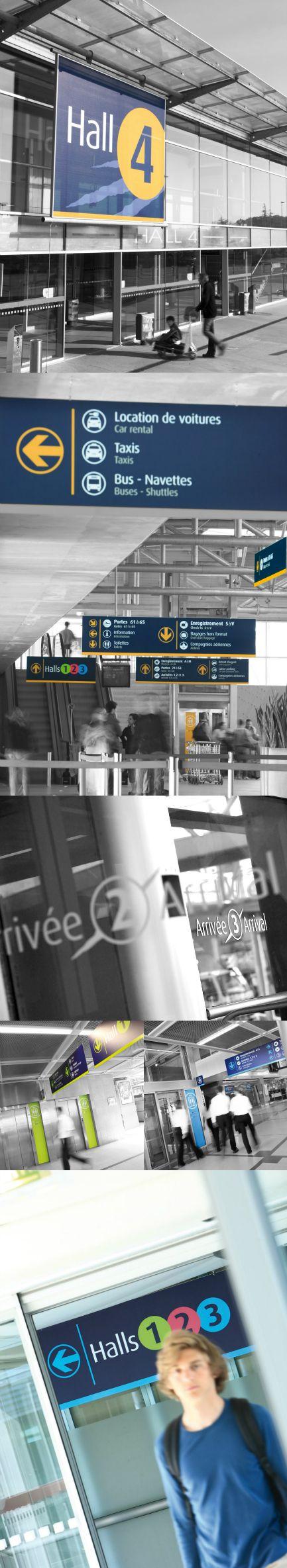 MOSWO | transport | Aéroport Nantes Atlantique | signalétique | design