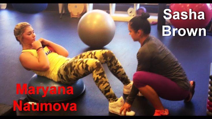 Maryana Naumova & Sasha Brown